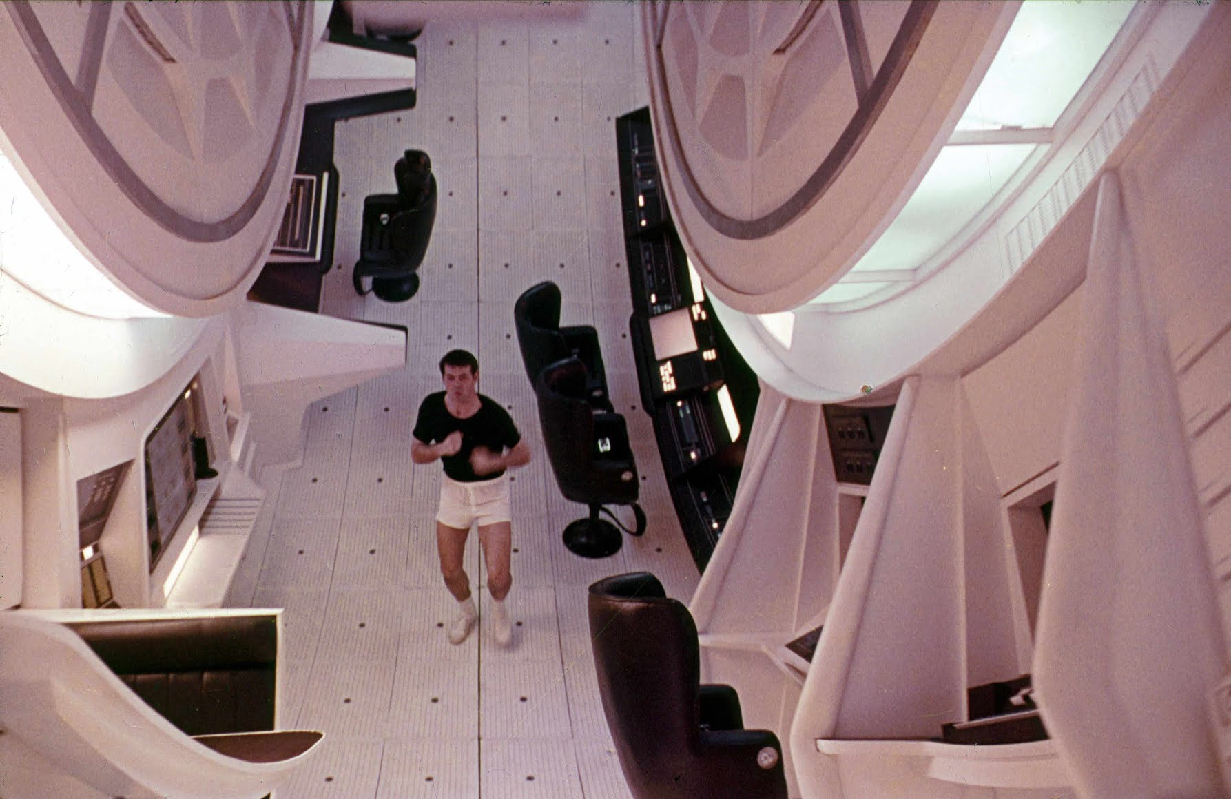 Stanley Kubrick's 2001: A Space Odyssey famously depicted a rotating space station © Alarmy